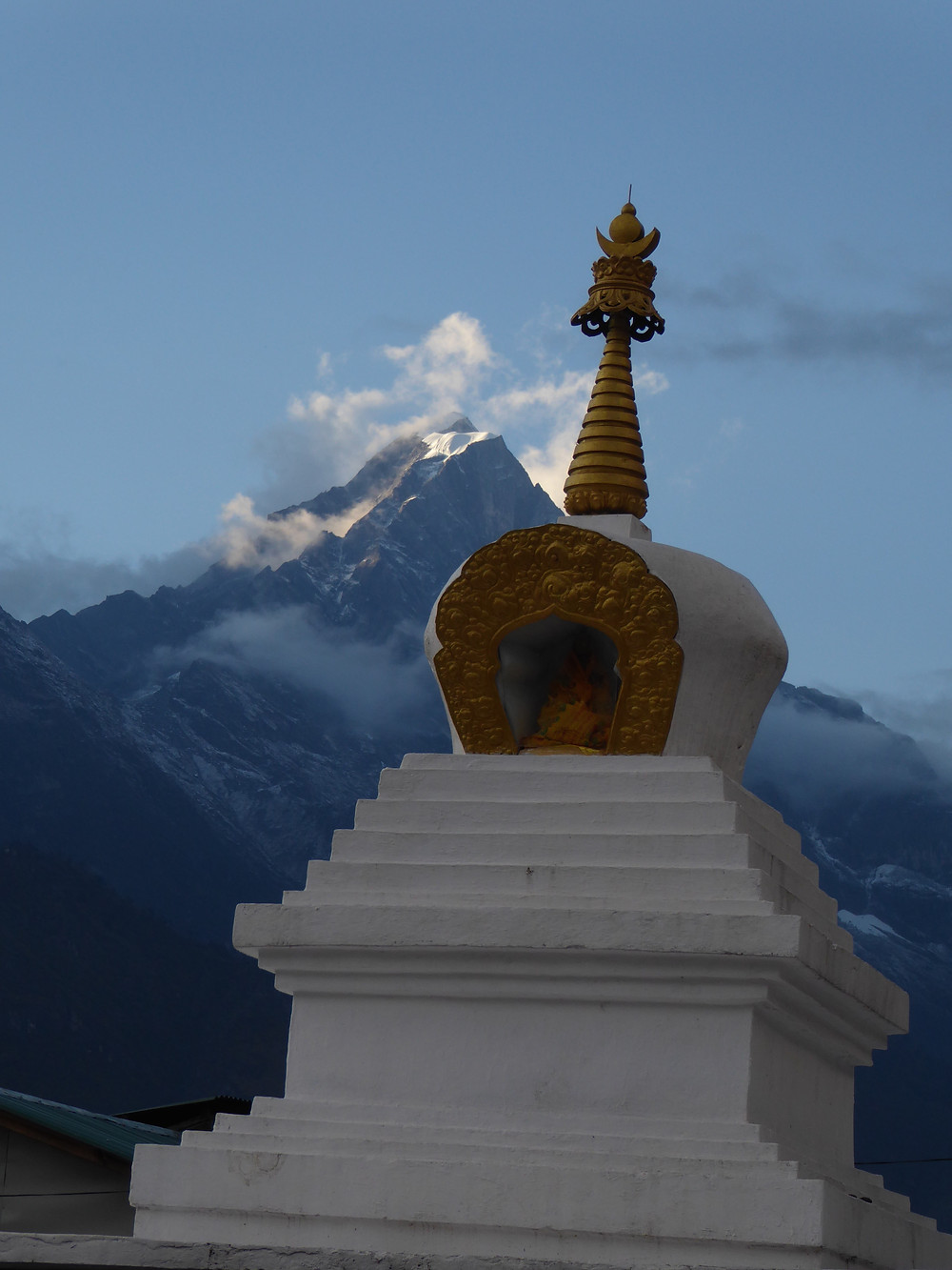 temple and Everest