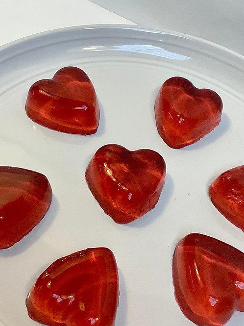 Mini Jelly Soap Hearts