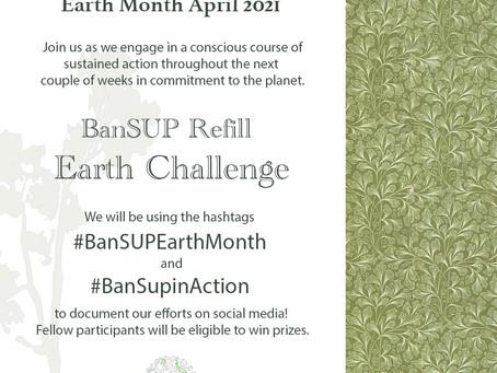 CALL TO ACTION: Earth Month April 2021
