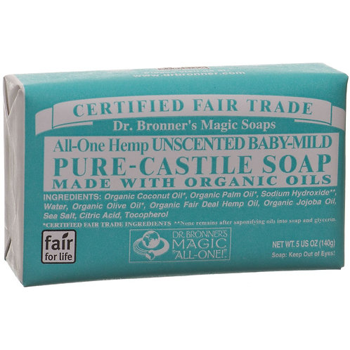Dr Bronner Hemp Baby-Mild Castile Soap
