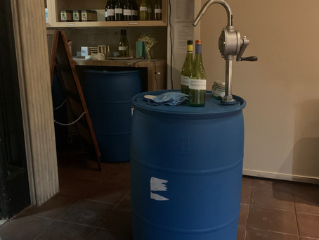 Our First 55 Gallon Drum Was replaced today!