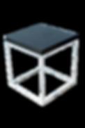 Mesa de apoyo metal y marmol $550 (3).pn