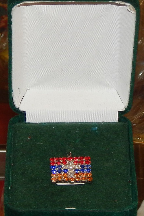 Armenian Flag Pin