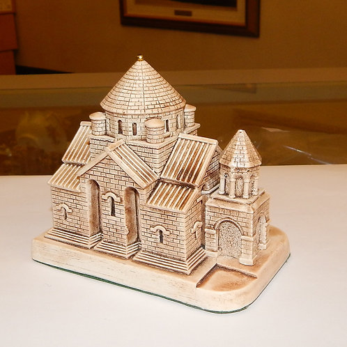 Miniature Replica of Saint Hripsime Church
