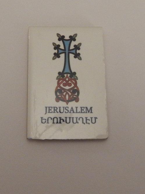 Jerusalem Souvenir Magnet