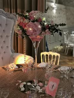 Table Sequin et Martini