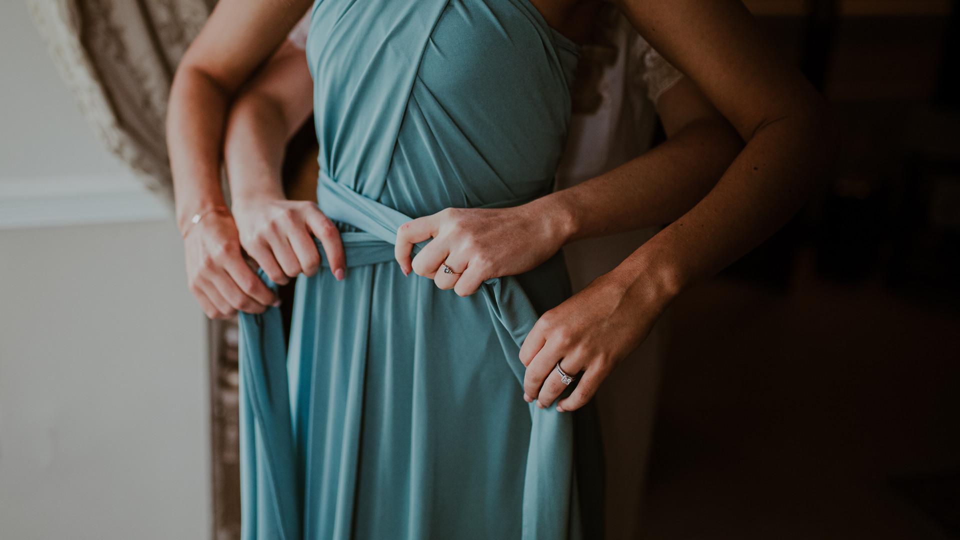 Boho Irish Bridesmaids Dress   Living Witness Weddings