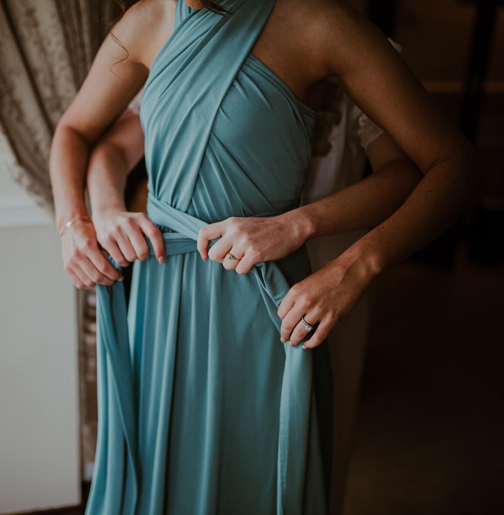 Boho Irish Bridesmaids Dress | Living Witness Weddings