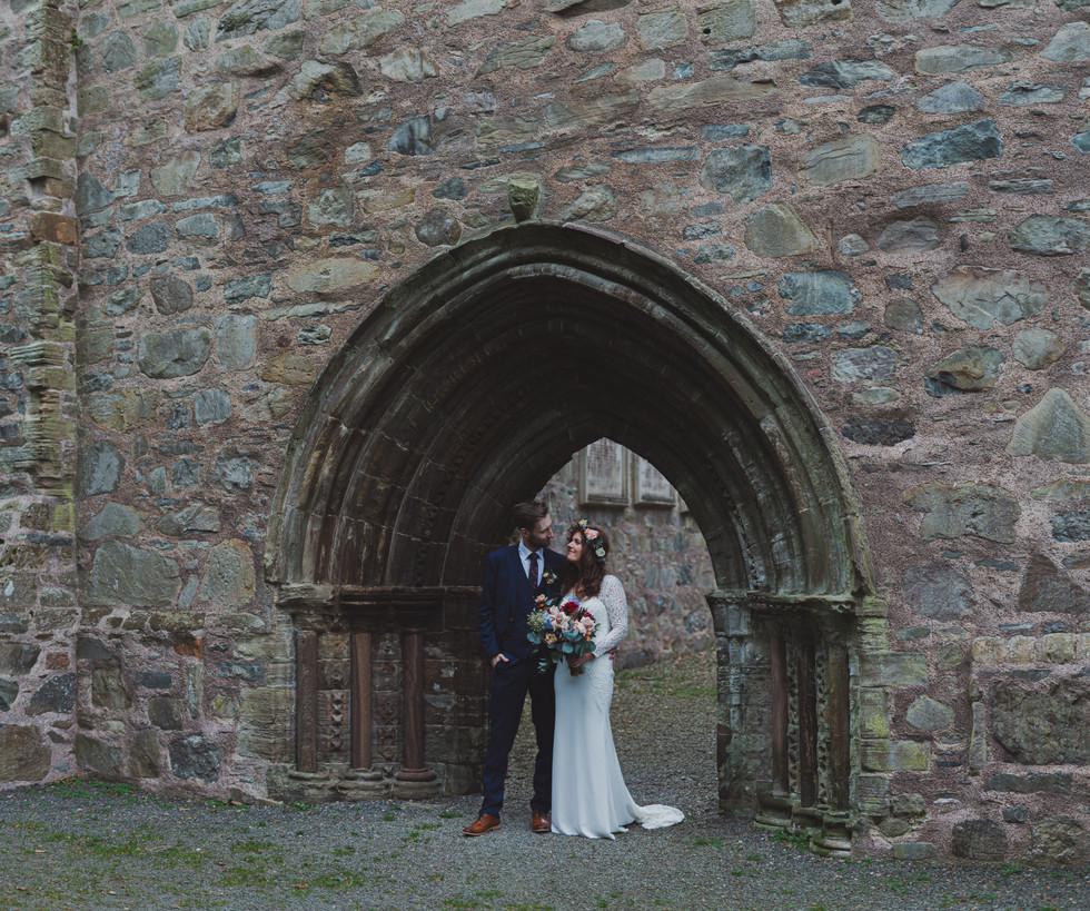 Whiteabbey Wedding Photos   Boho Bride   Quirky Wedding   Living Witness Weddings