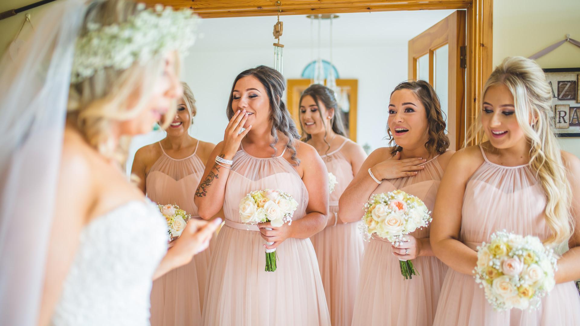 Emotional Bridesmaids   Wedding Morning Prep   Living Witness Wedding
