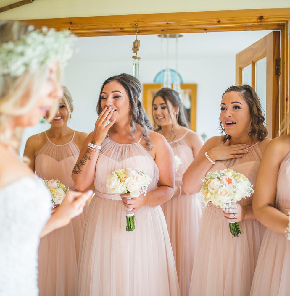 Emotional Bridesmaids | Wedding Morning Prep | Living Witness Wedding