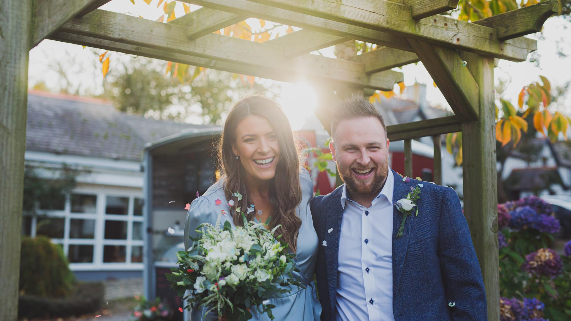Northern Ireland Lockdown Wedding   Maddypenny Farm Wedding   Living Witness Weddings