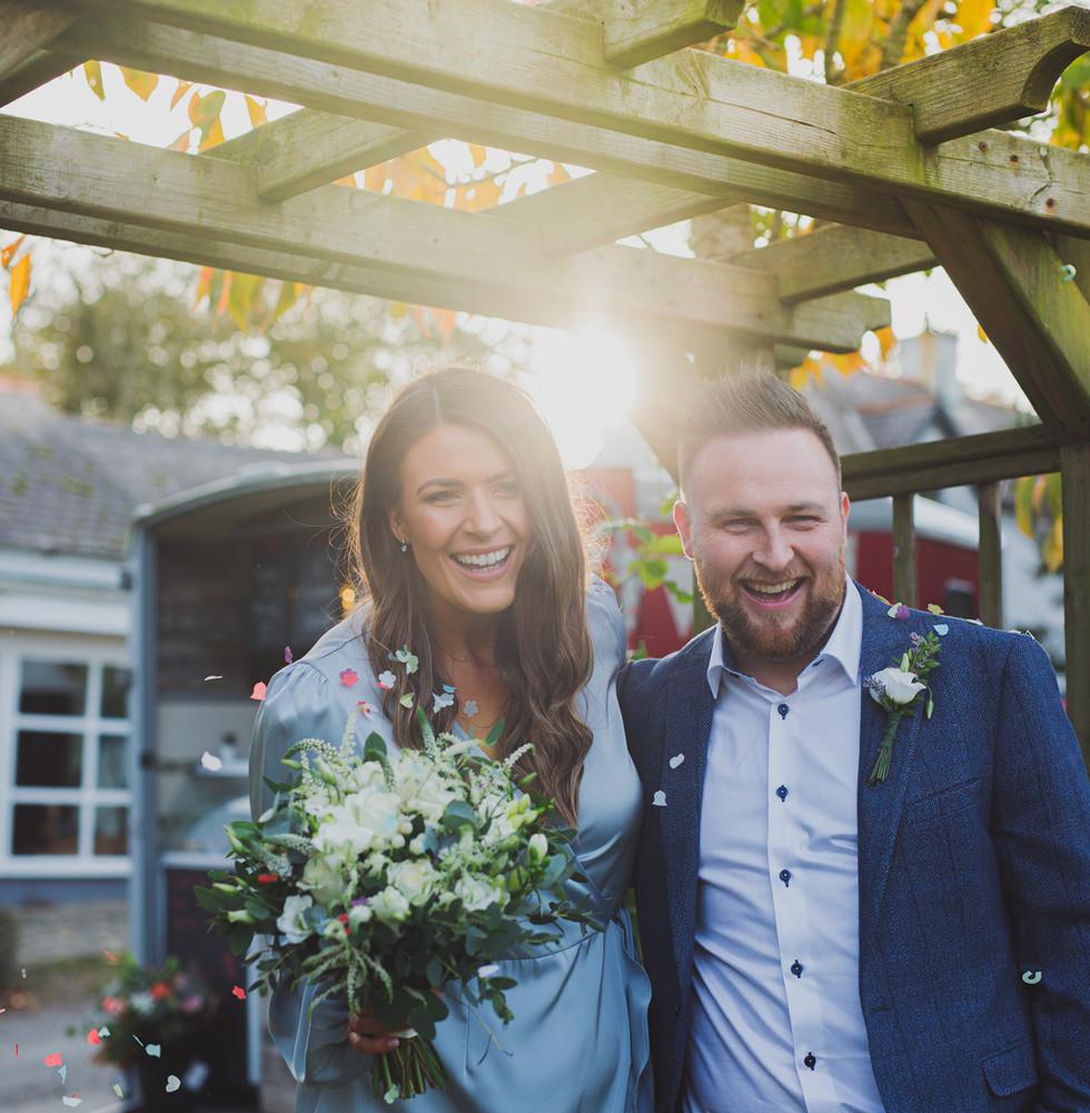Northern Ireland Lockdown Wedding | Maddypenny Farm Wedding | Living Witness Weddings