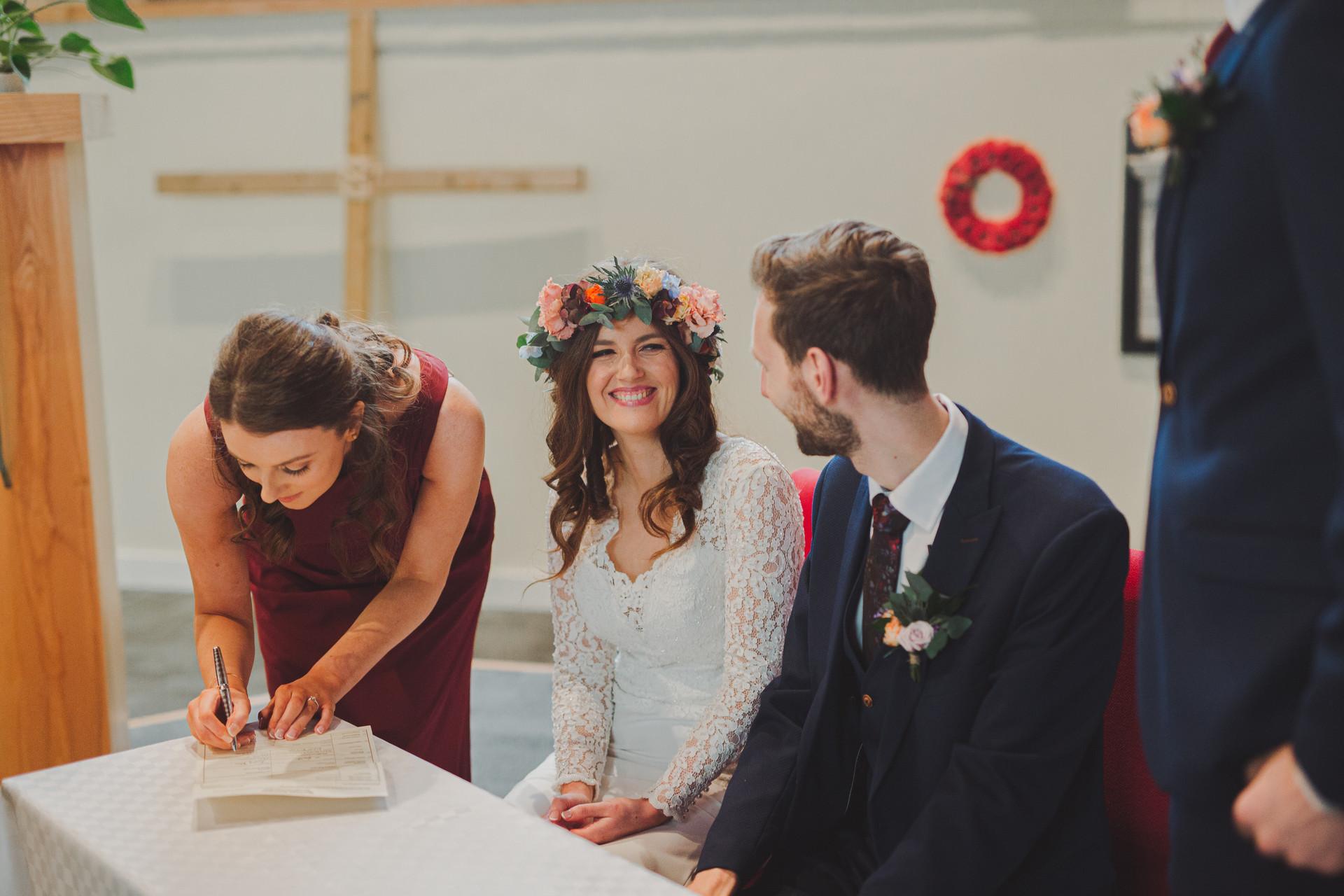 Willowfield Church Belfast Wedding | Boho Bride | Quirky Wedding | Living Witness Weddings