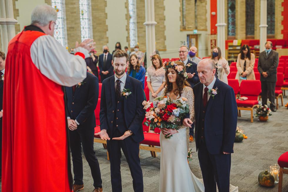 Willowfield Church Belfast Wedding   Boho Bride   Quirky Wedding   Living Witness Weddings