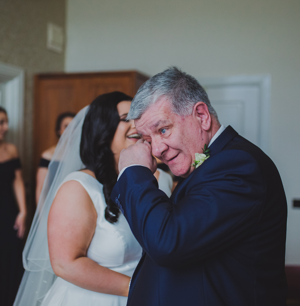 Emotional Father of The Bride | Slieve Donard Wedding | Living Witness Weddings