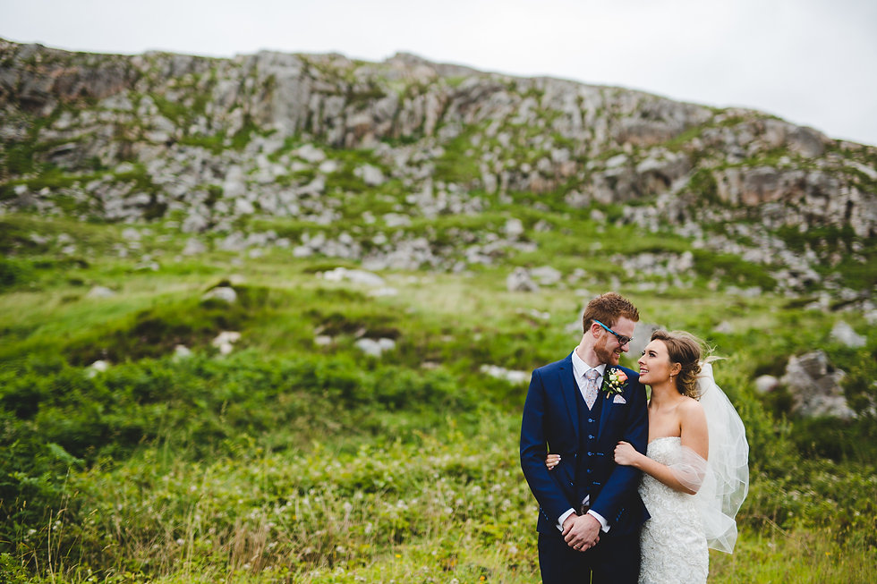 Donegall Adventure Wedding, Outdoor Wedding