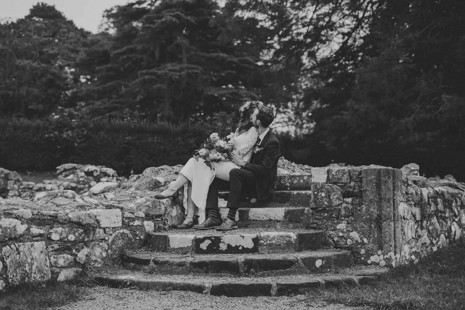 Whiteabbey Wedding Photos | Boho Bride | Quirky Wedding | Living Witness Weddings