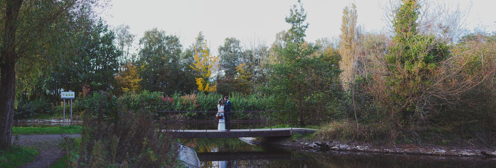 Victoria Park Wedding Photos | Boho Bride & Groom | Quirky Wedding | Living Witness Weddings