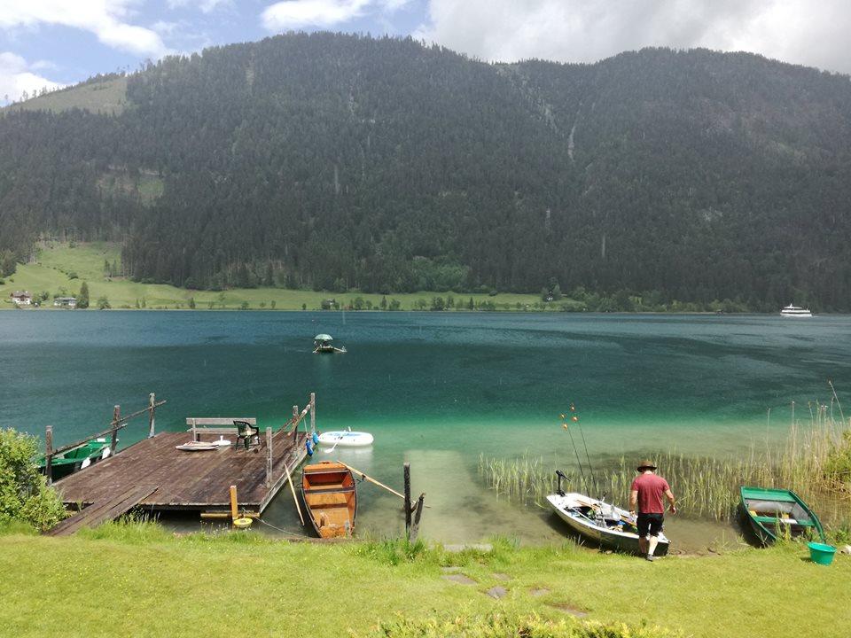 Chalets Zöhrer, Weißensee, Fischerboote,
