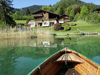 Chalets Zöhrer, Bootfahren, fischen, ang