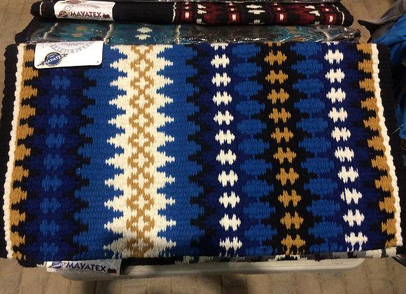 MAYATEX ROYAL, BRIGHT BLUE AND TAN