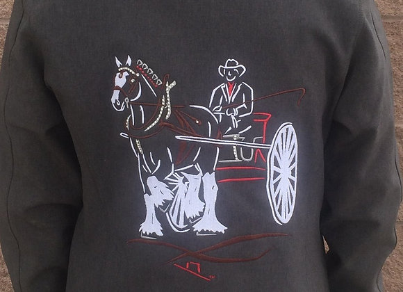 SINGLE CLYDESDALE DRIVING HORSE (MEN'S OR WOMEN'S)