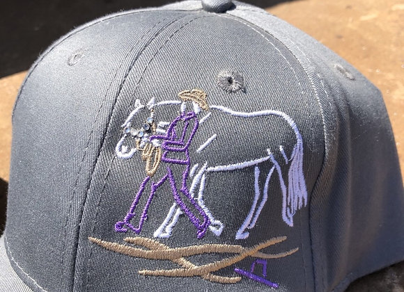 SHOWMANSHIP TWILL HATS WITH BLING