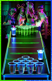 Spencer's Gifts Glow Pong