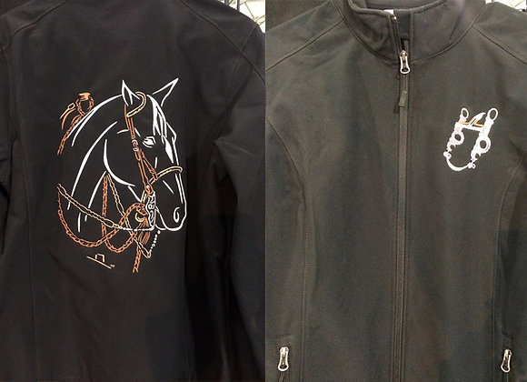 TWO REIN HORSE SOFTSHELL JACKET