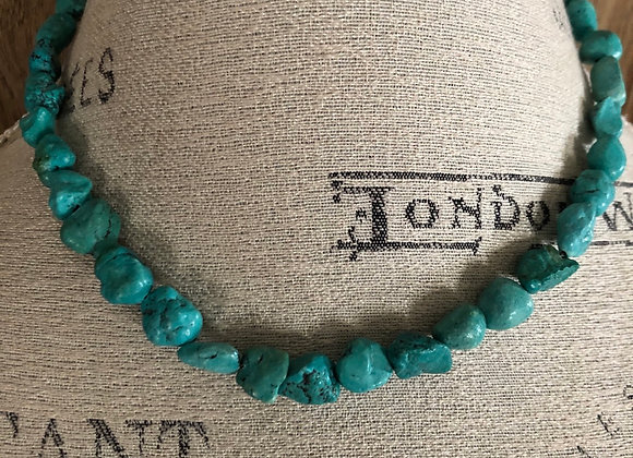Authentic Turquoise stone Necklace