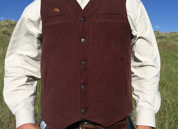 MEN'S WYOMING WOOL VEST