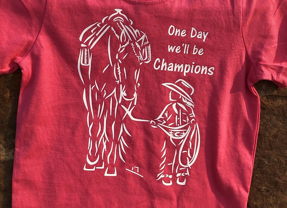 ONE DAY WE'LL BE CHAMPIONS YOUTH TEE