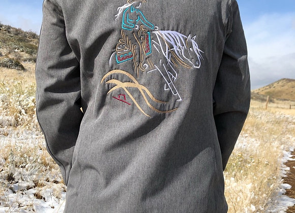 LADIES SOFTSHELL WITH REINER EXTRA MANE DESIGN AND SPIN