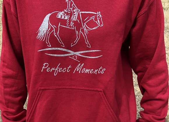 PERFECT MOMENTS PLEASURE HORSE SWEATHIRT (Crew neck or Hooded Pullover)