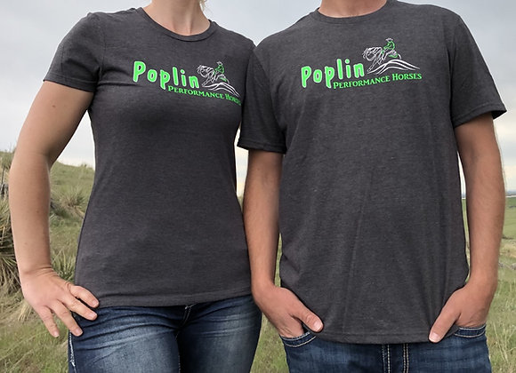 POPLIN LOGO TEE SHIRTS FOR MEN OR WOMEN