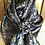 """Thumbnail: SILVER WITH BLUE PAISLEY 42"""""""