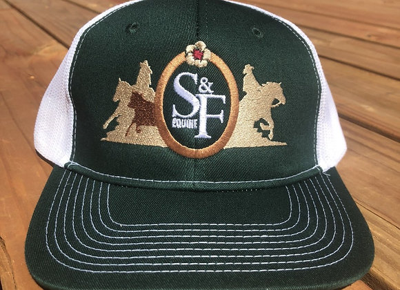 SMITH & FLAVIN EQUINE LOGO MESH BACK HATS
