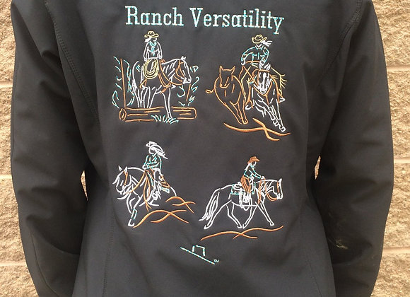 WOMEN'S RANCH VERSITILITY SOFTSHELL JACKET