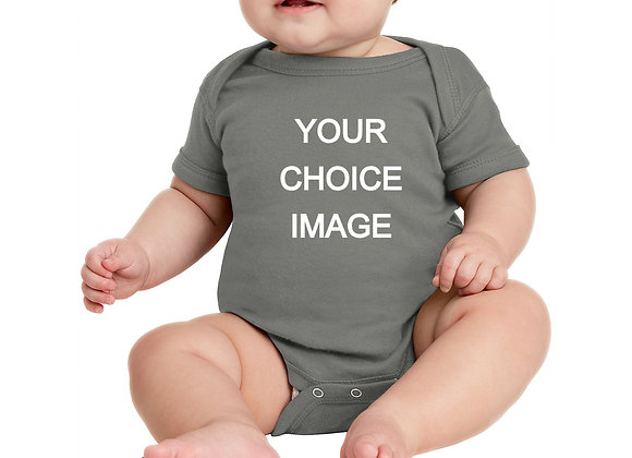 BUILD YOUR OWN ONESIE WITH YOUR CHOICE DESIGN