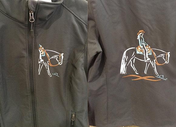 WESTERN PLEASURE HORSE SOFTSHELL JACKET