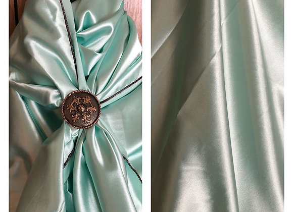 MINT GREEN CHARMEUSE SOLID