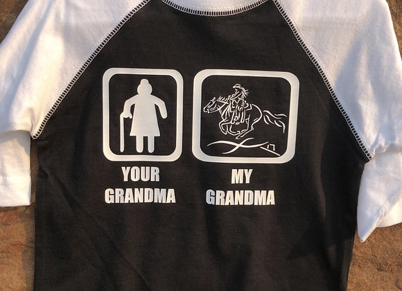 MY GRANDMA TEE FOR TODDLER OR YOUTH (Your Choice of Discipline!)