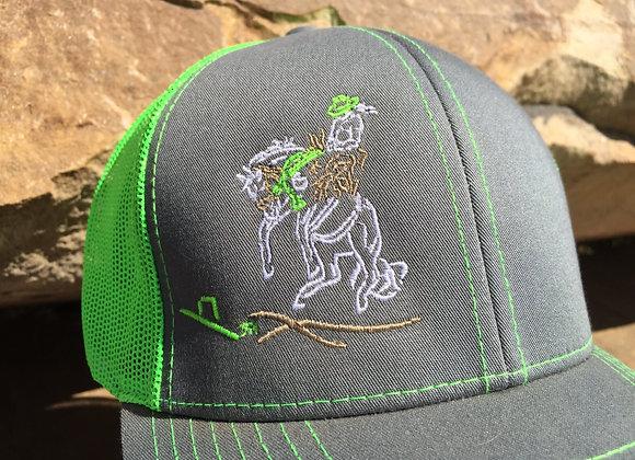 WOMEN'S BRONC RIDER TRUCKER CAP