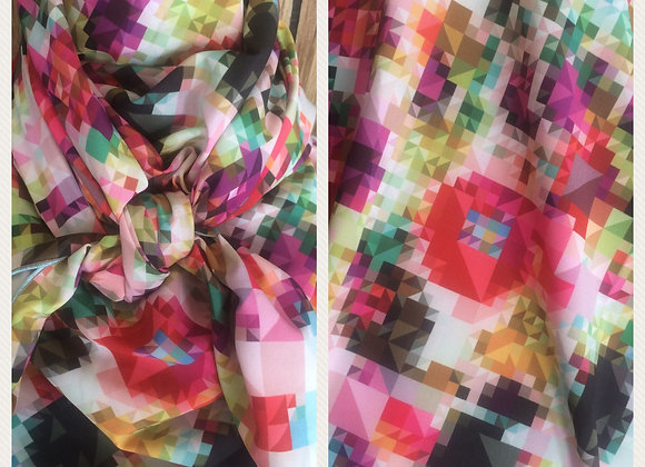 Geo Abstract mulitcolor print