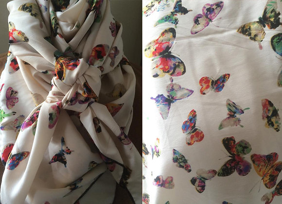 MULTICOLOR BUTTERFLY ANIMAL PRINT
