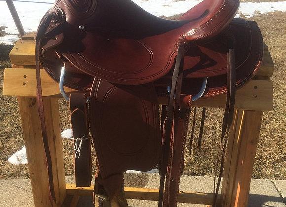 "15 1/2"" Rico Saddlery Trail/Ranch Saddle"
