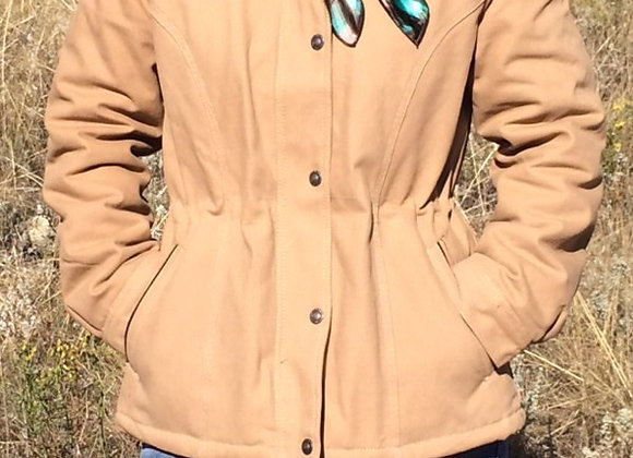 WOMEN'S CANVAS RANCH COAT