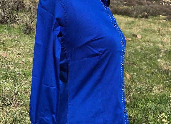 FRENCH BLUE BUCKSTITCH SHIRT