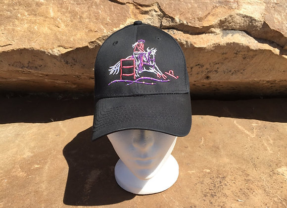 BARREL RACER WITH BLING TWILL CAP